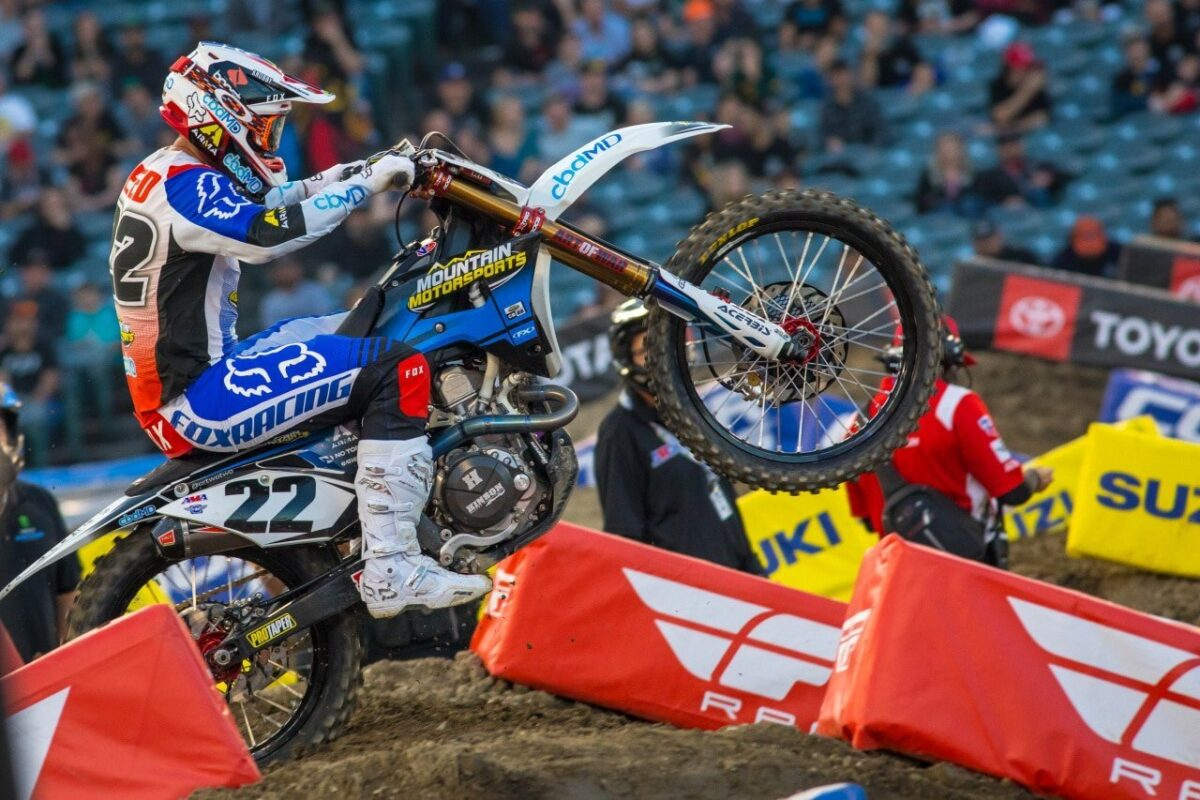 Chad Reed racing