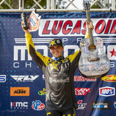 Zack Osborne wins at the 2020 Lorreta Lynn's Motocross Race