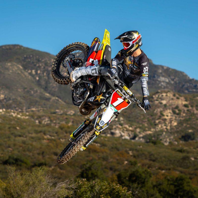 2021 Team Rockstar Energy Husqvarna rider Osborne