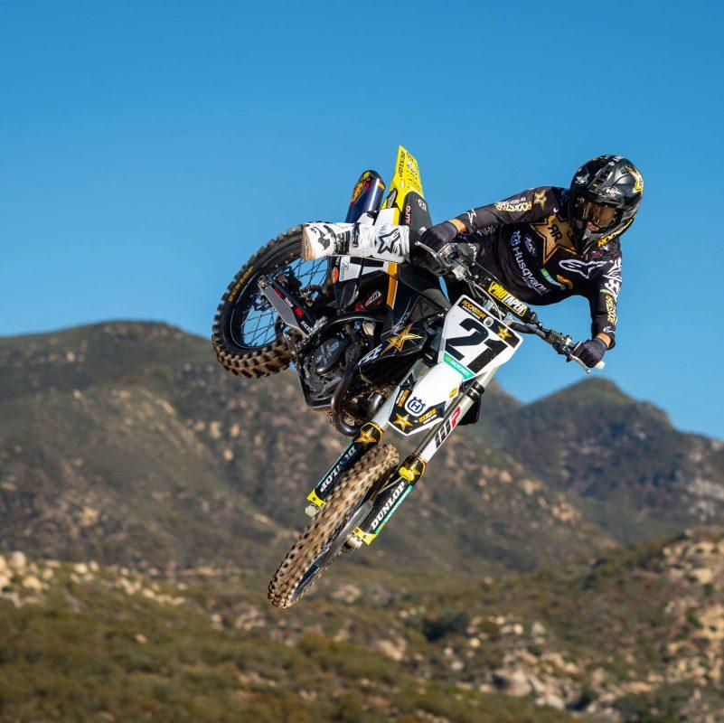 2021 Team Rockstar Energy Husqvarna rider Anderson