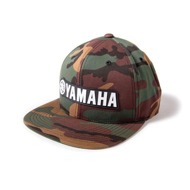 Yamaha Camo Snap back hat