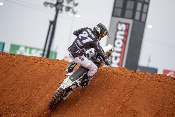 Jason Anderson racing at Atlanta Supercross