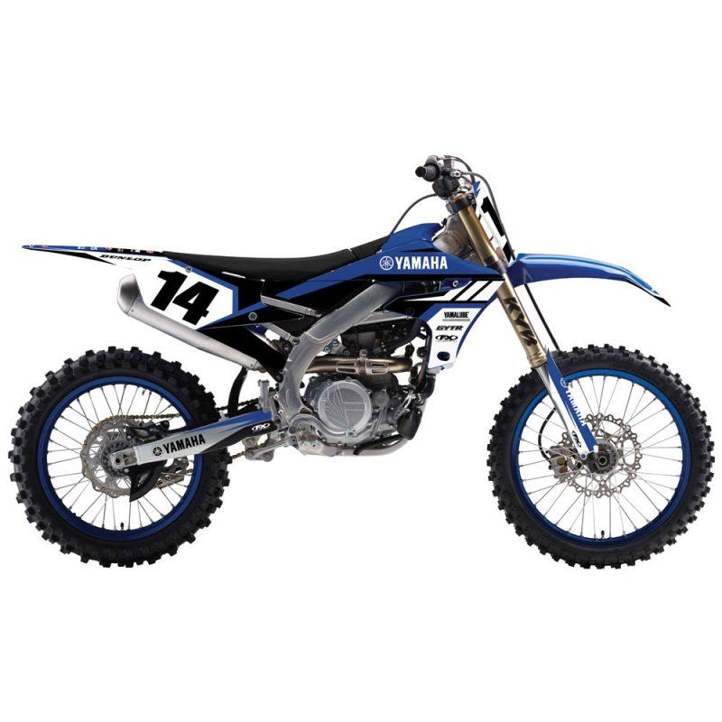 Yamaha with Graphic kit